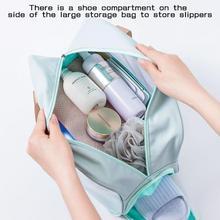 Cute Women Waterproof Transparent Travel Cosmetic Bag Makeup Case Bath Make Up Organizer Toiletry Wa