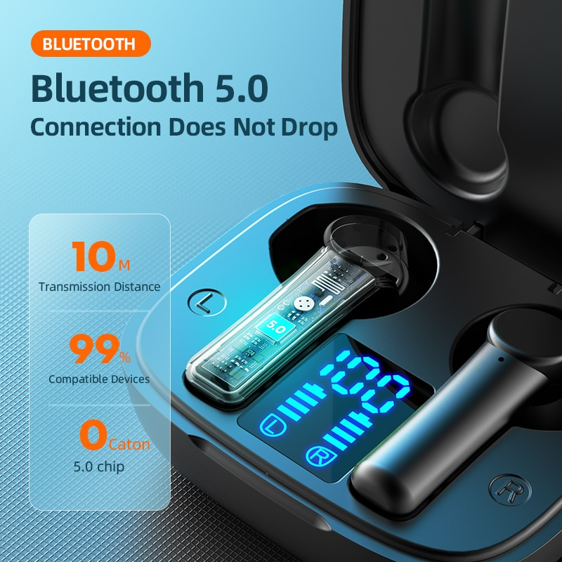 Gaming Earbuds Low Latency TWS Bluetooth Earphone with Mic Bass Audio Sound Positioning PUBG Wireless Headset for Android iphone enlarge