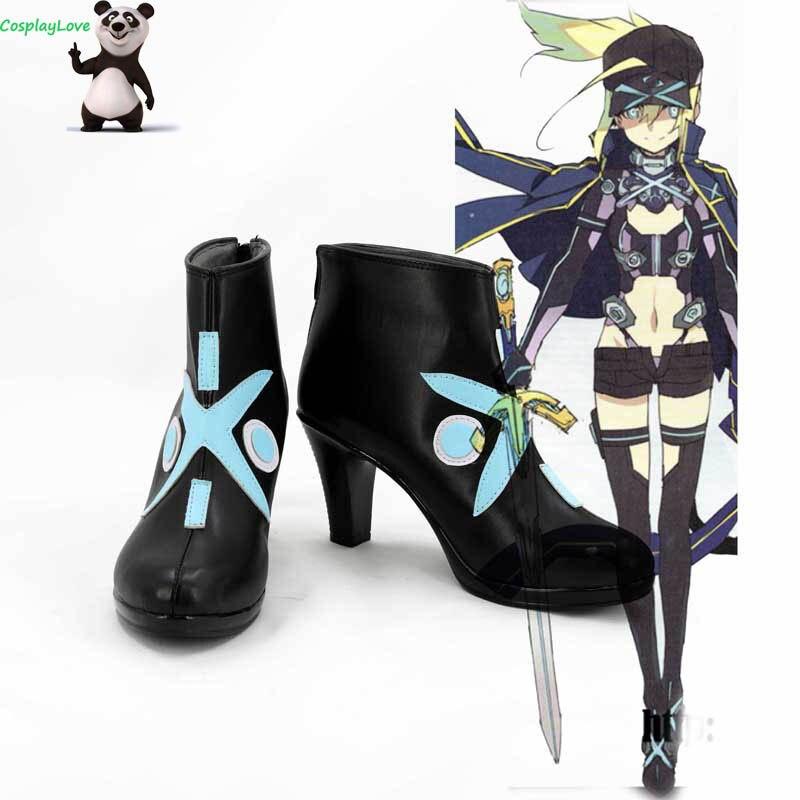 FGO Fate Grand Auftrag Mysterious Heroine X Schwarz Schuhe Cosplay Lange Stiefel Leder CosplayLove Für Halloween Weihnachten