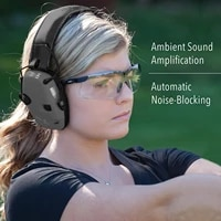 2021 hearing protection headset foldable hot sale sport sound amplification electronic shooting earmuff green%ef%bc%8cblack