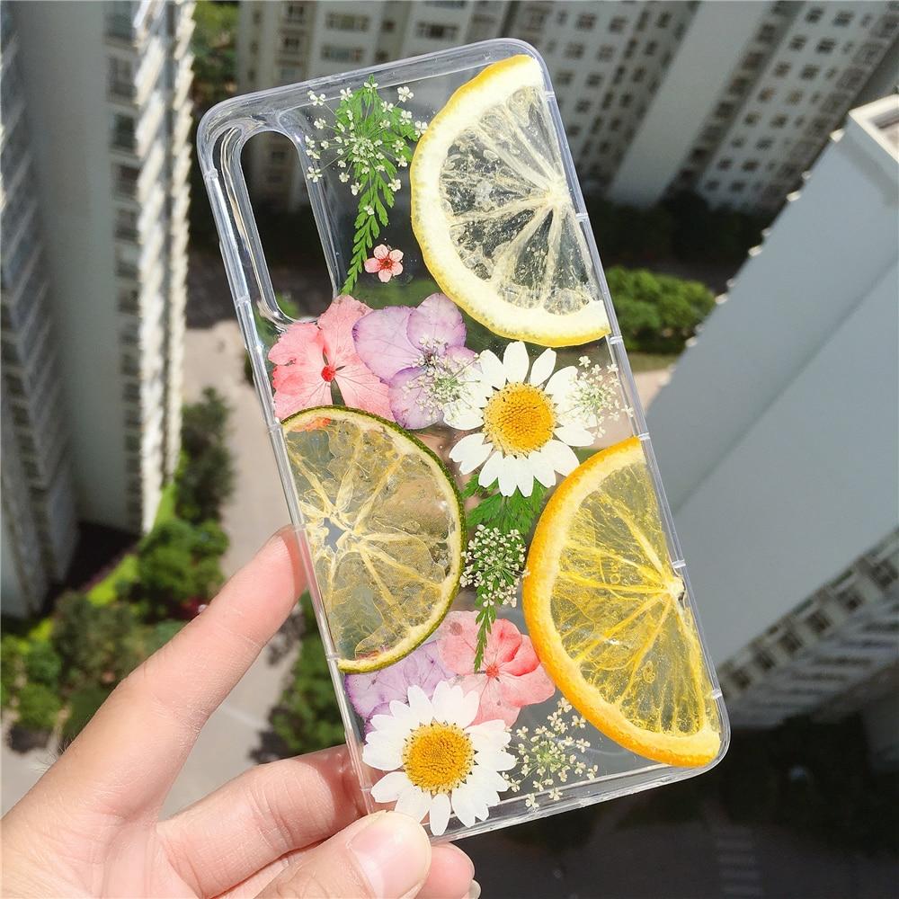 Custodia arancione reale per Google Pixel 4A 5G 5 Pixel 3 XL 2 3A, Cover posteriore per telefono floreale con frutta estiva carina per ragazza donna fiore adorabile