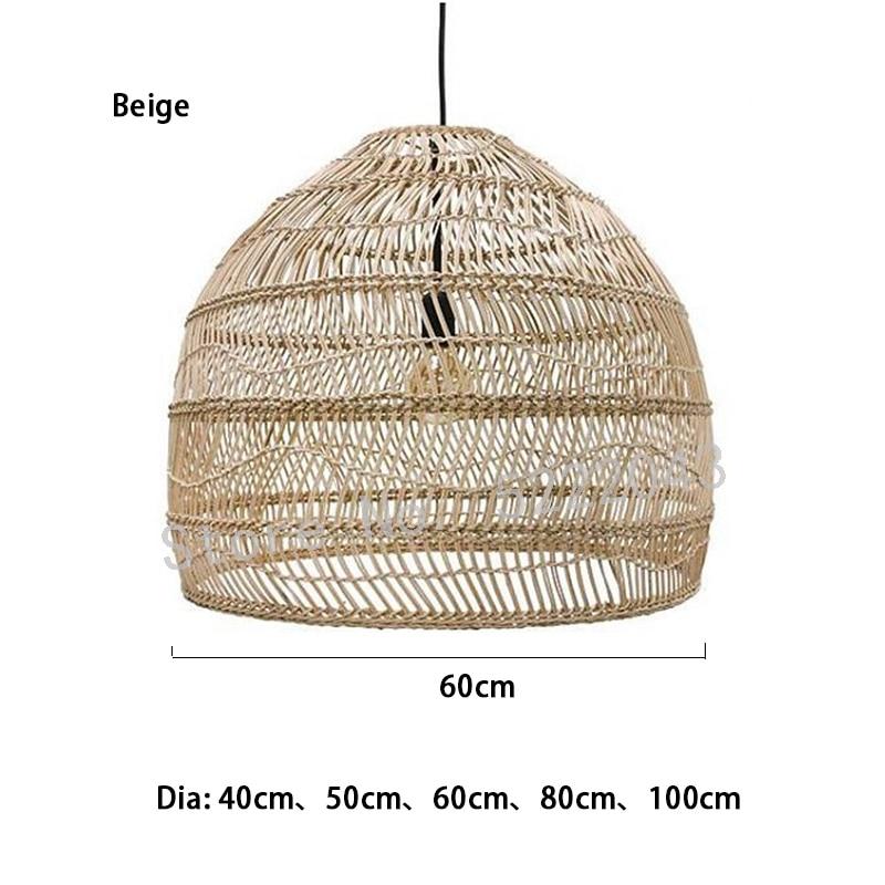 Новый подвесной светильник из ротанга в китайском стиле, винтажный подвесной светильник E27, гостиная, столовая, домашний декор, подвесной св... eichholtz подвесной светильник emperor