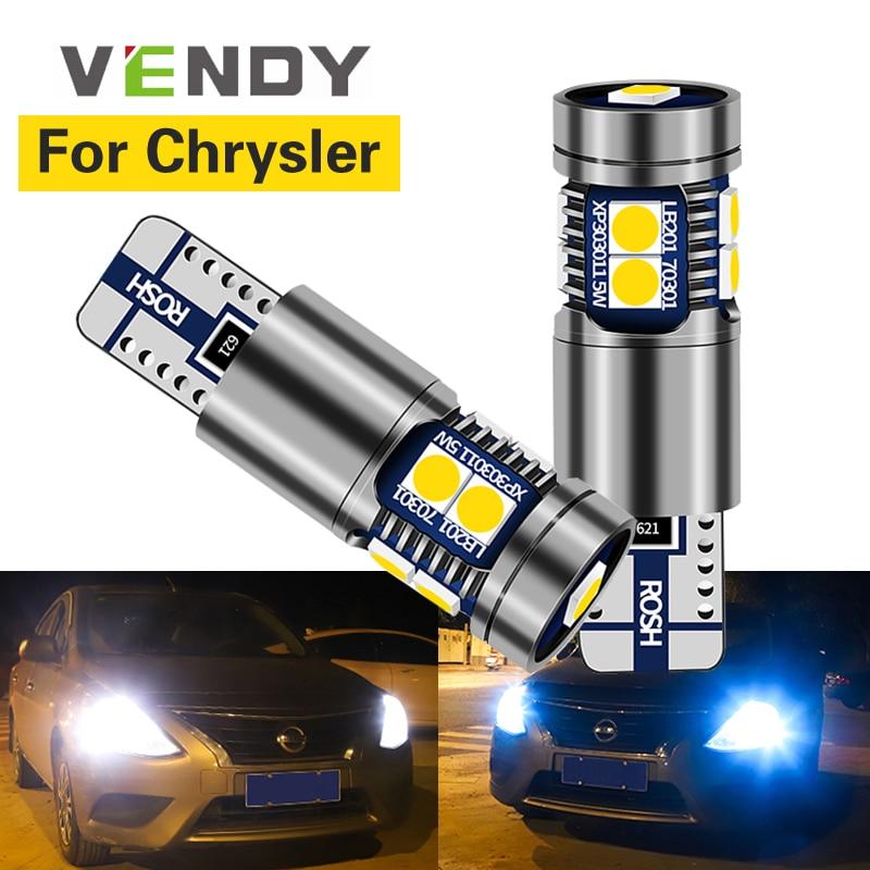 1 pçs carro conduziu luzes de folga w5w t10 2825 lâmpada canbus lâmpadas para chrysler 300 300c pt cruiser sebring aspen crossfire pacifica