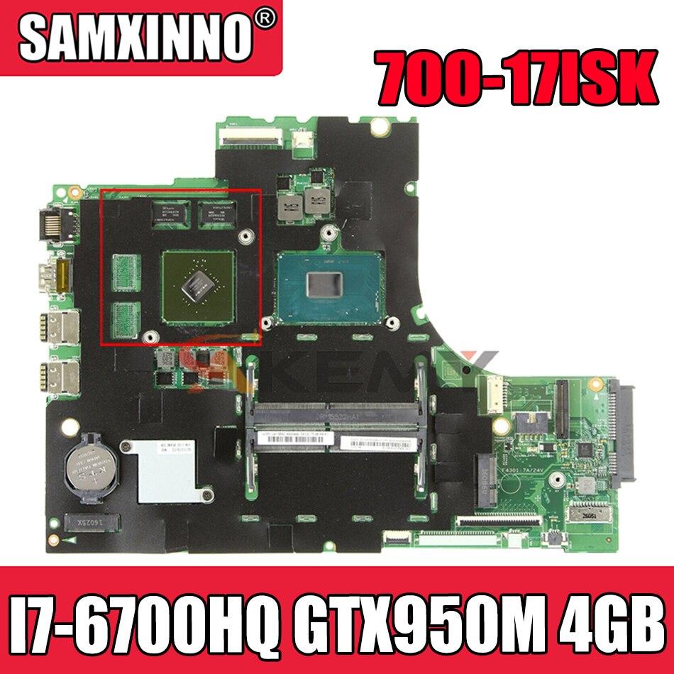 Akemy لينوفو ايديا باد 700-17ISK اللوحة 15221-1 448.06R01.0011 CPU I7 6700HQ + GTX950M 4GB 100% اختبار العمل FRU 5B20M07198
