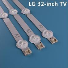 3 pièces (2 * A1 * 7LED,1 * A2 * 8LED)LED rétro-éclairage barre pour LG 32