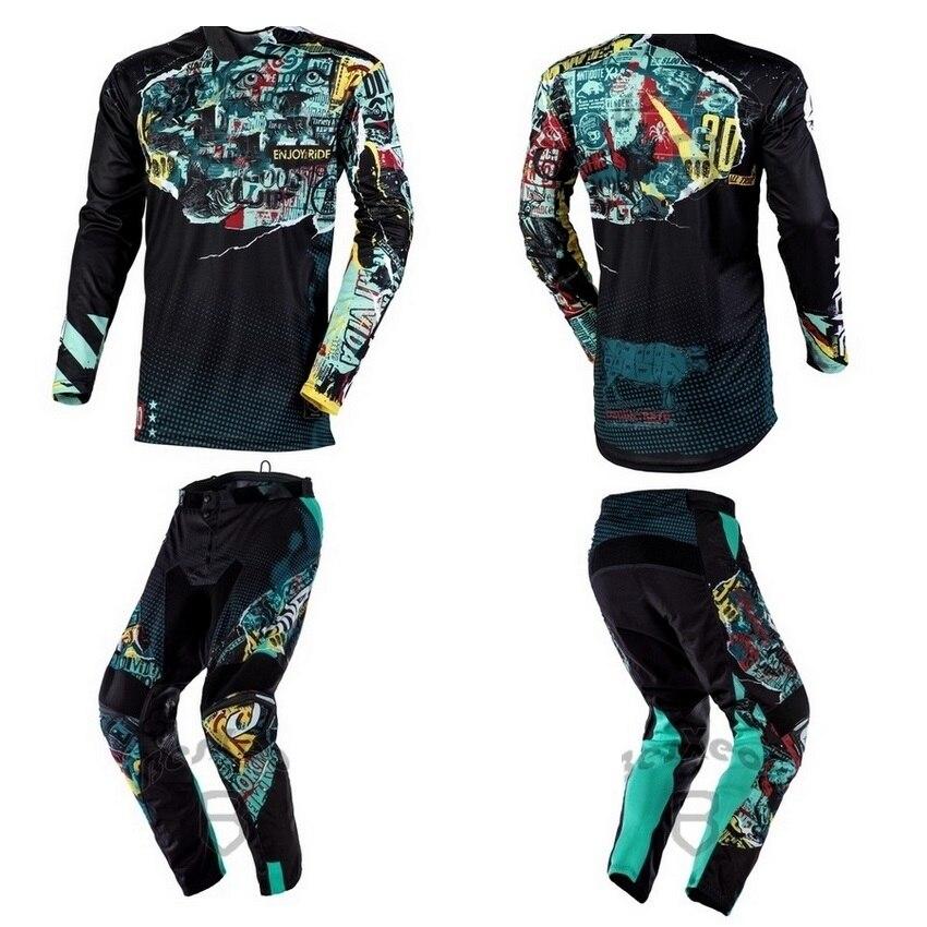 MX MAYHEM SAVAGE pour moto, ensemble déquipement, combinaison pour Motocross, 2 couleurs, pour conduite, costume de course pour moto, nouveau, 2019