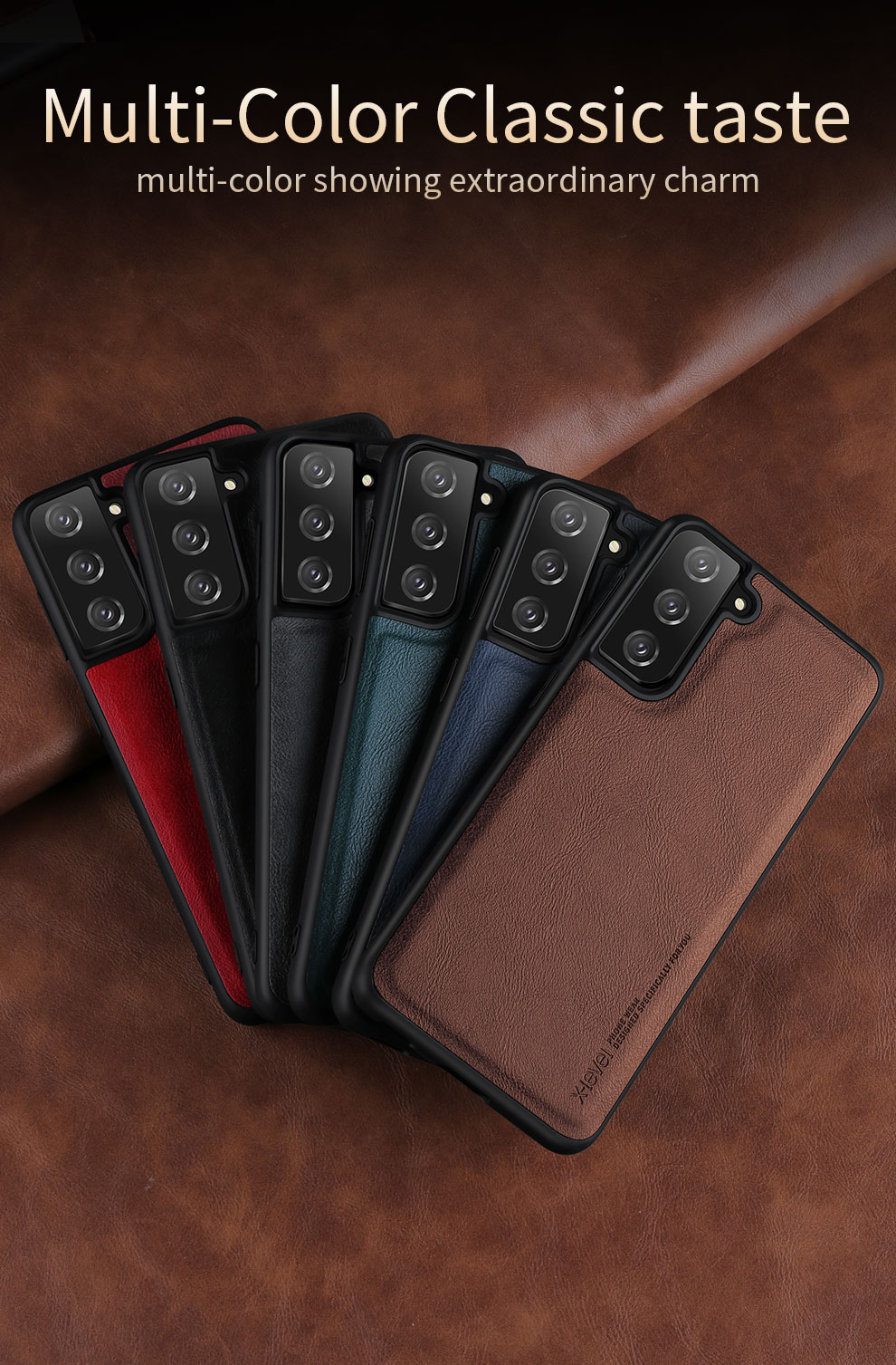 Galaxy S21 Plus Leather Case 4