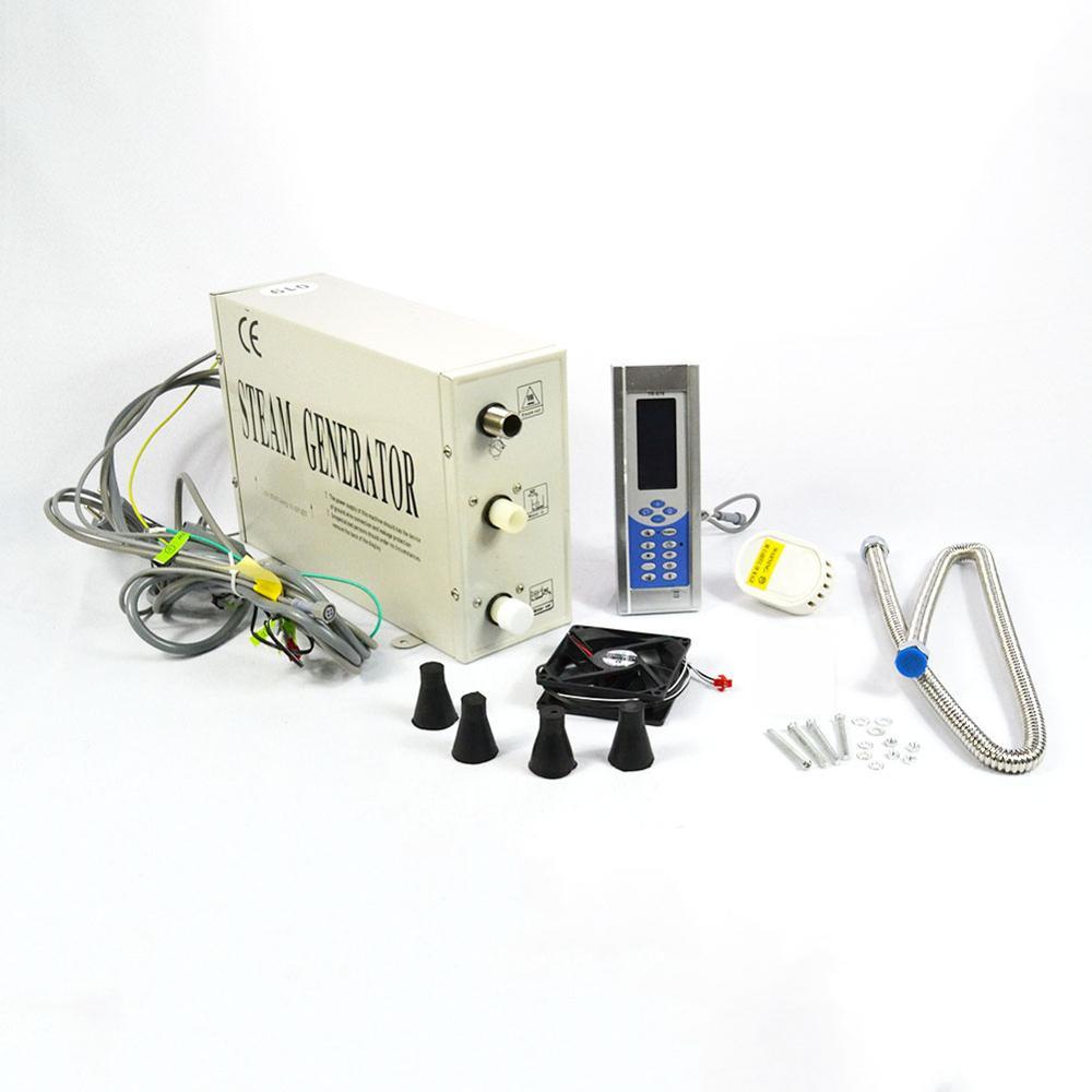 110V/220V Steam Generator 3KW easy operation Sauna bath for home SPA sauna and bath
