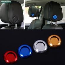 Car Headrest Adjustment Button Decorative Cover Accessories 2018 2019 2020 2021 for Volkswagen Vw Ti