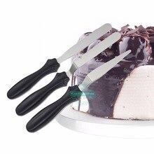 Ensemble de couteaux à petite manivelle/spatule coudée   Outils de décoration pour gâteaux/glaces/Sugarcraft/Fondant-gâteau