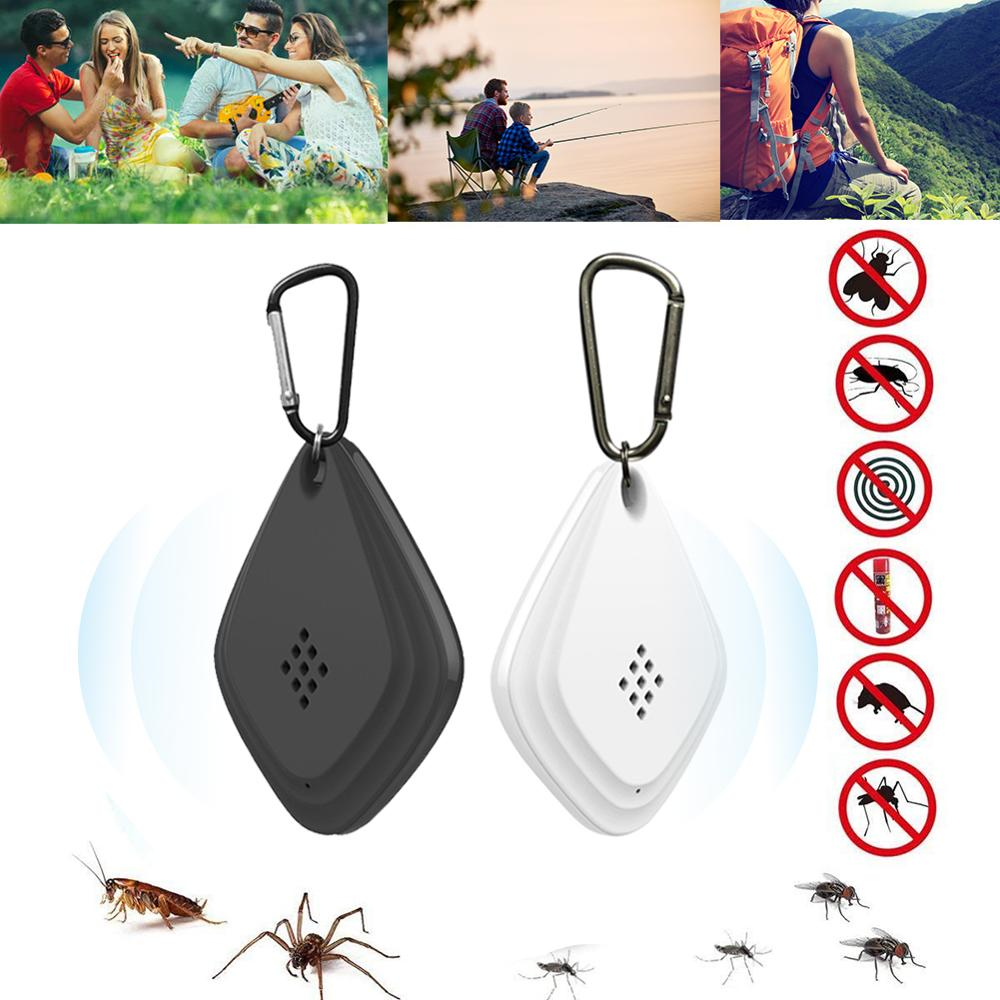 USB Mosquito Repeller Ultrasonic Electronic Insect Pest Control Killer Fly Repellent Portable ABS Outdoor Anti Mosquito Repeller