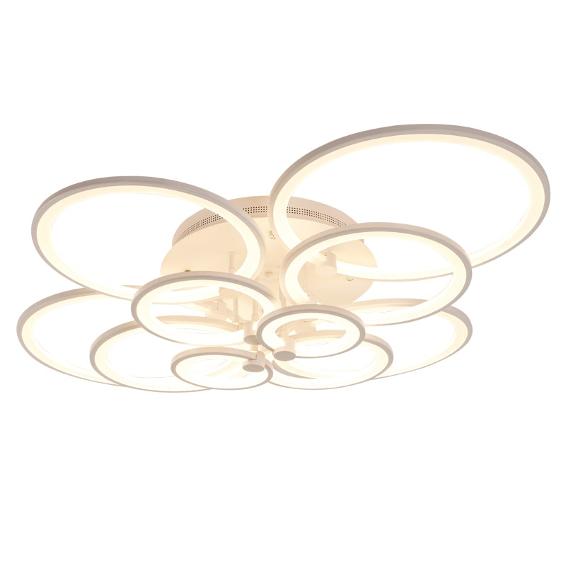 Hot modern led chandelier lights for living room bedroom kids room surface mounted led home indoor ceiling chandelier lamp  - buy with discount