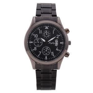 New Fashion Men Quartz Watch Stainless Steel Watchband Black Watch Date Business Luxury Male Clock Relogio Masculino