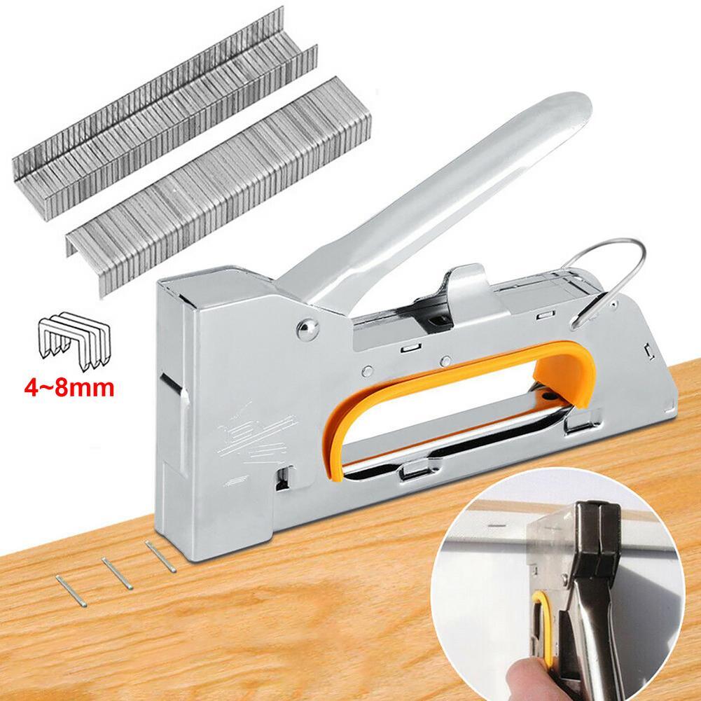 Staple Machine Ergonomic Grip Heavy Duty One-hand Stapler Office school binding supplies Manual Cute Staplers