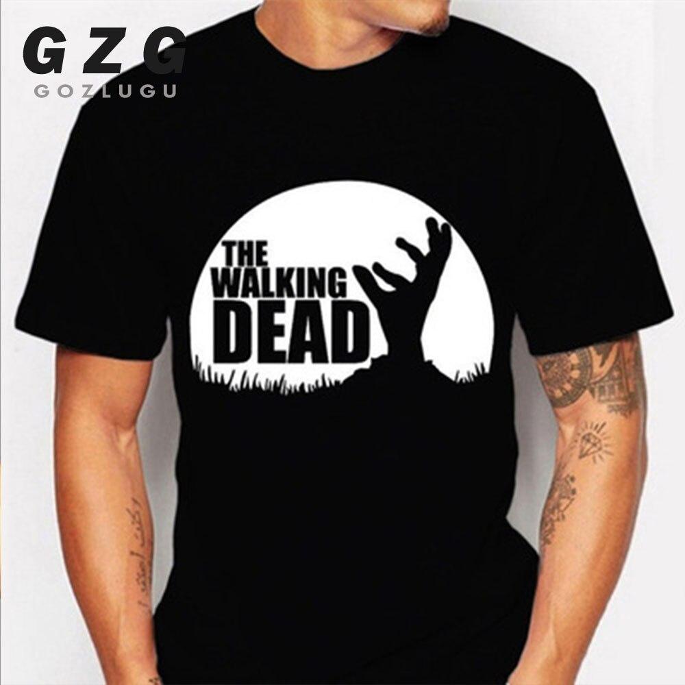 2019 New hot sale The walking dead Printes T-shirt Summer Fashion Casual Short Sleeve O-neck Men T shirts free shipping