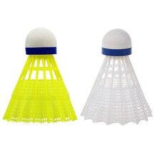 3/6/12Ppcs High quality Badminton Shuttlecocks Goose Feather Balls Outdoor Sports Badminton Accessor