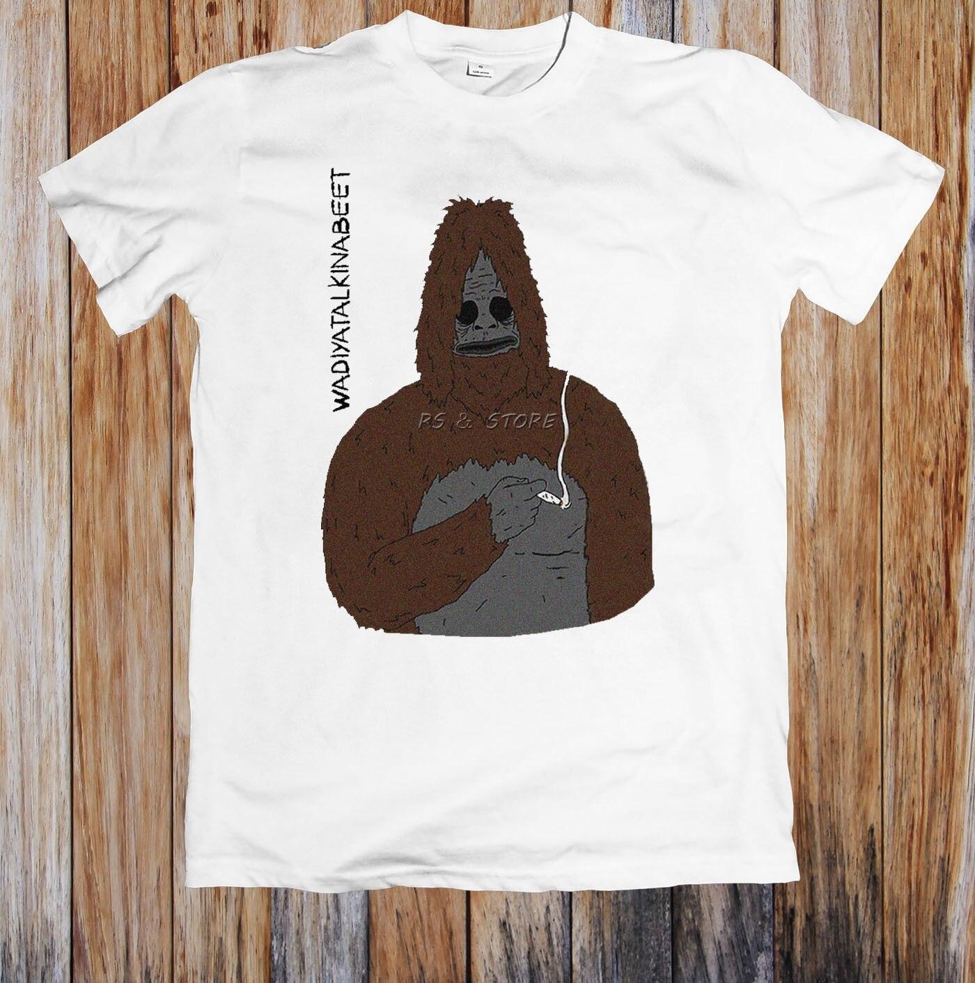 De moda de Verano de la calle manga corta T camisa atrevida el SASQUATCH gran LEZ mostrar oficial camiseta UNISEX de moda de verano T-Shirt