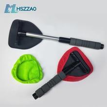 Окно комплект щеток для чистки лобового стекла автомобиля для чистки инструмент для мытья внутри салона авто Стекло щетка с длинной ручкой запотевания протрите
