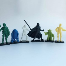 40 Stks/partij Star Wars Poppen 2.5-4Cm Home Decor Action Figure Kwaliteit Capsule Speelgoed Voor Kinderen Verjaardagscadeau hobby Collecties