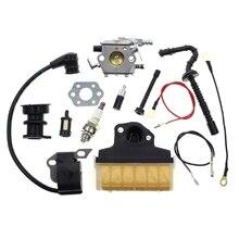 Carburateur pour Stihl tronçonneuse Carb avec 1123 160 1650 filtre à Air bobine dallumage ligne de carburant mise au point Kit remplacer Walbro WT286