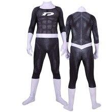 Danny fantôme Cosplay Costumes 3D imprimé Lycra Spandex super-héros Daniel Danny Fenton Zentai costume Halloween body adultes enfants