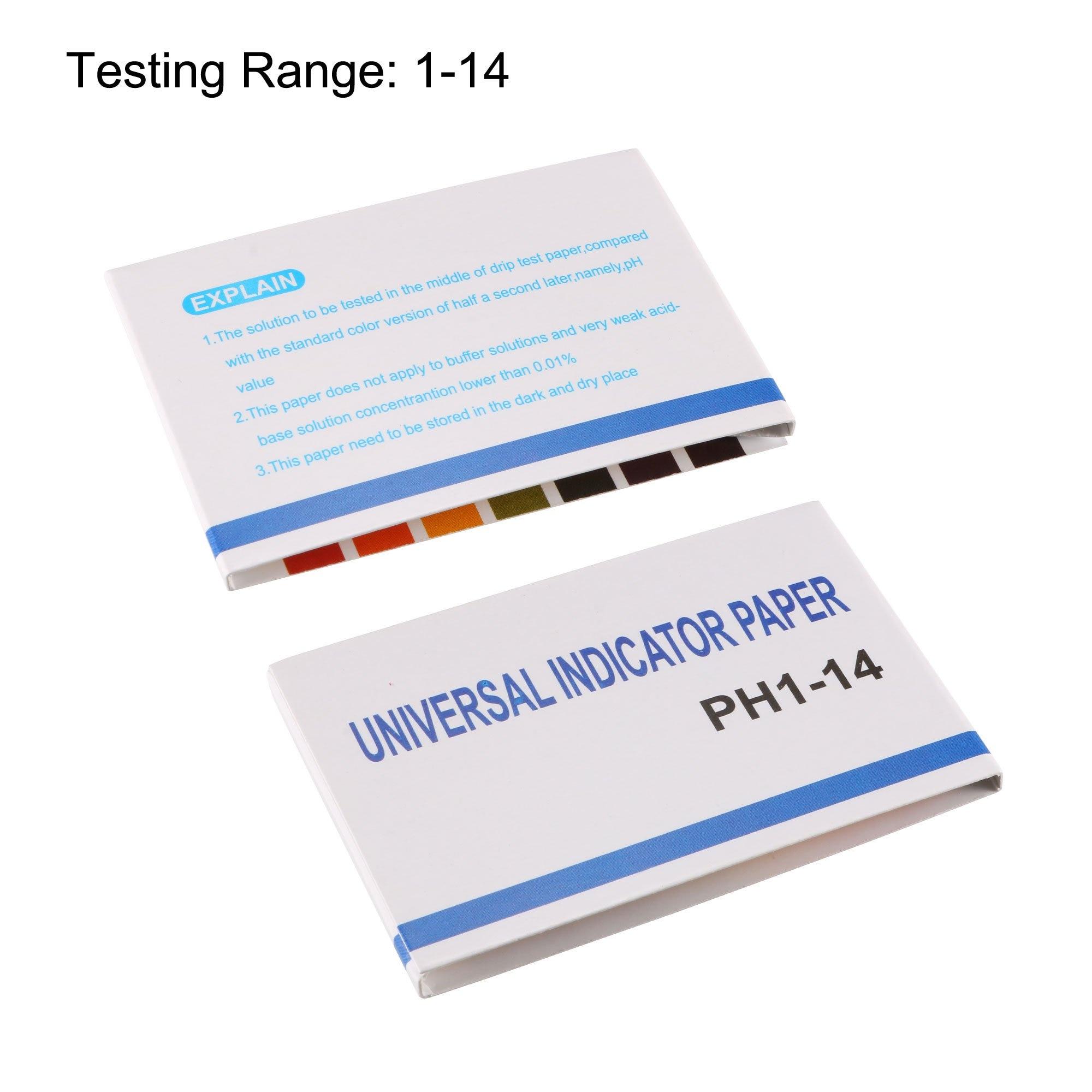 80 strips short range ph alkaline acid 0 5 5 0 indicator litmus paper ph test strips 30%off pH Test Strips 80 PCS Universal Litmus Paper (pH 1-14) to Test Water Quality, Soil, Urine & Saliva, Cosmetics, Alkaline & Diabet