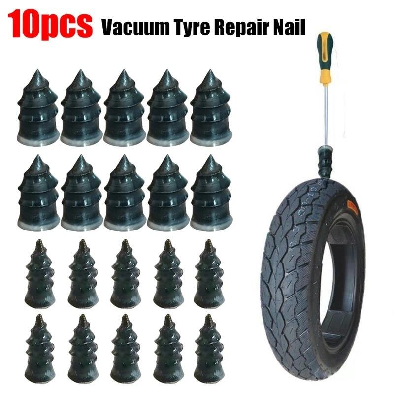 Ремонт вакуумных шин для мотоциклов, 10 шт., ремонт электрических шин, скутеров, велосипедов, ремонт проколов шин для автомобилей и грузовико...