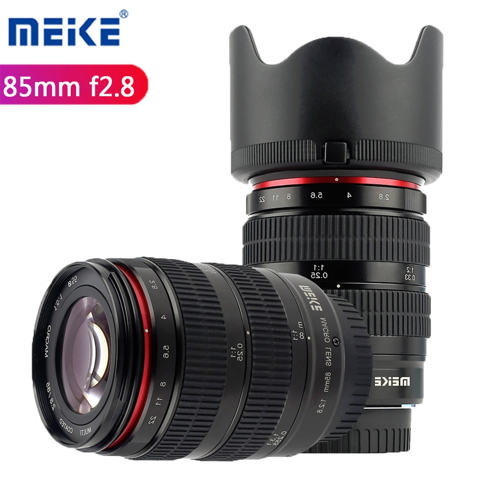 Meike 85 مللي متر F2.8 APS-C دليل التركيز عدسة الإطار الكامل لكانون نيكون DSLR كاميرا سوني فوجي 4/3 جبل المرايا