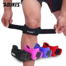 1 pz regolabile ginocchio tendine rotula supporto cinghia fascia ginocchiera supporto ginocchiere per corsa basket Sport allaria aperta