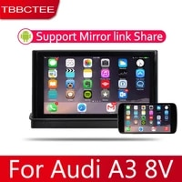 7 hd 1080p ips lcd screen android 8 core for audi a3 8v 20142018 car radio bt 3g4g wifi aux usb gps navi multimedia