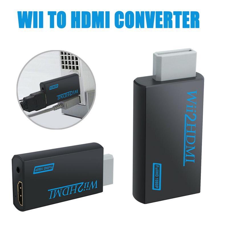 Caliente Full HD 1080P Wii compatible con HDMI Adaptador convertidor WiiHDMI convertidor...