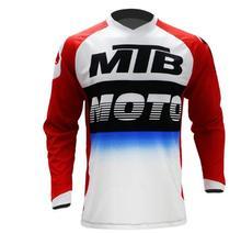 2019 Men's Downhill Jerseys Mountain Bike MTB Shirts Offroad DH Motorcycle Jersey Motocross Sportwear BMX Clothing