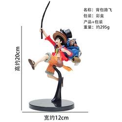 20 centímetros Anime One Piece Mania Produzir Monkey D Luffy PVC Action Figure Toy Model Collection
