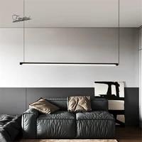 modern led pendant lights suspended nordic loft dimming simple pendant lamp living room bedroom hanging lamp kitchen lustre