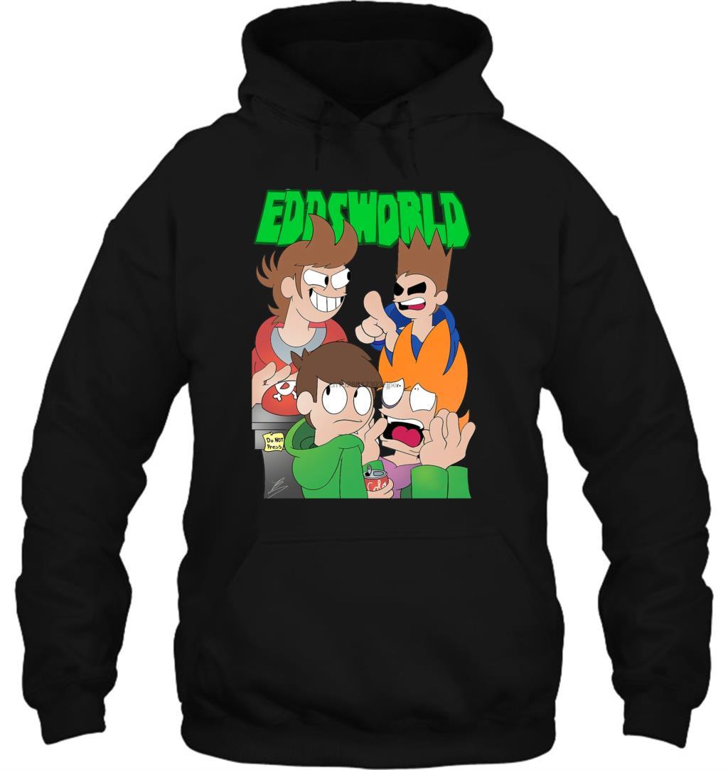 Eddsworld T Para homens mulheres Hoodies Moletons Streetwear