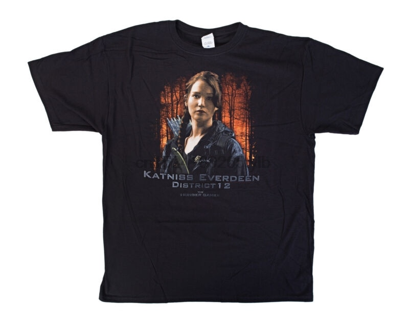 The Hunger Games Katniss Everdeen D12 Mens T-Shirt