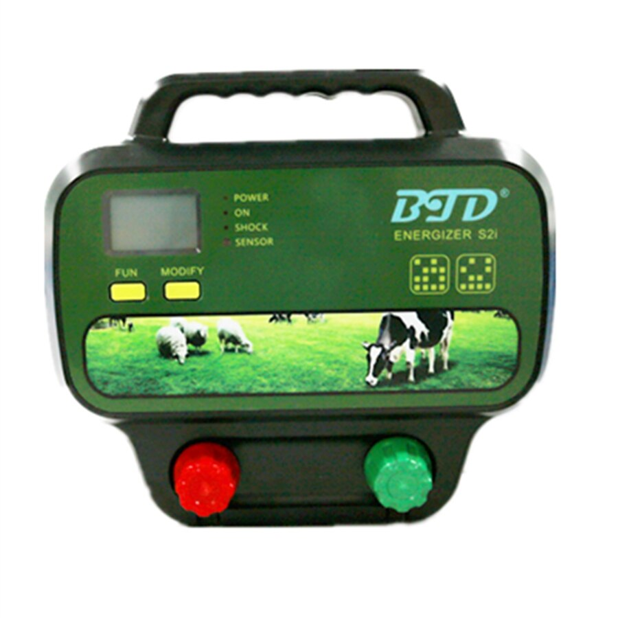 Hot Sell BTD Wireless Remote Control 2 J 20KM Electric Fence Energizer Fence Controller For Animal enlarge