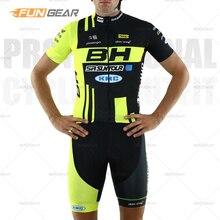 Pro BH équipe cyclisme vêtements hommes Jersey ensemble 2020 à manches courtes chemise été course uniforme vélo de route serré sport costume respirant