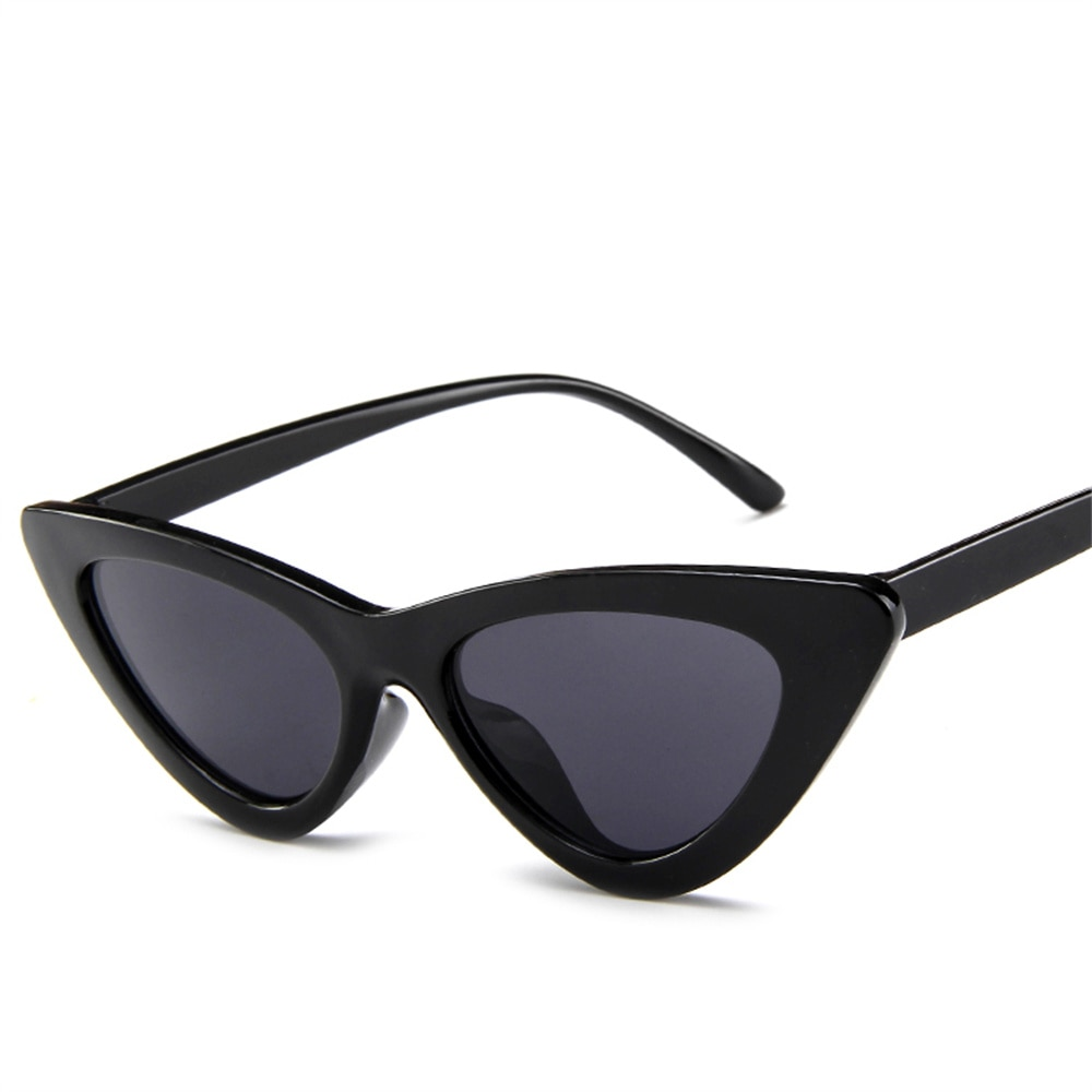Cat Eye Triangle Sunglasses Women Retro Female Eyewear UV400 Sun Glasses  Streetwear Trending Fashion Ladies Glasse