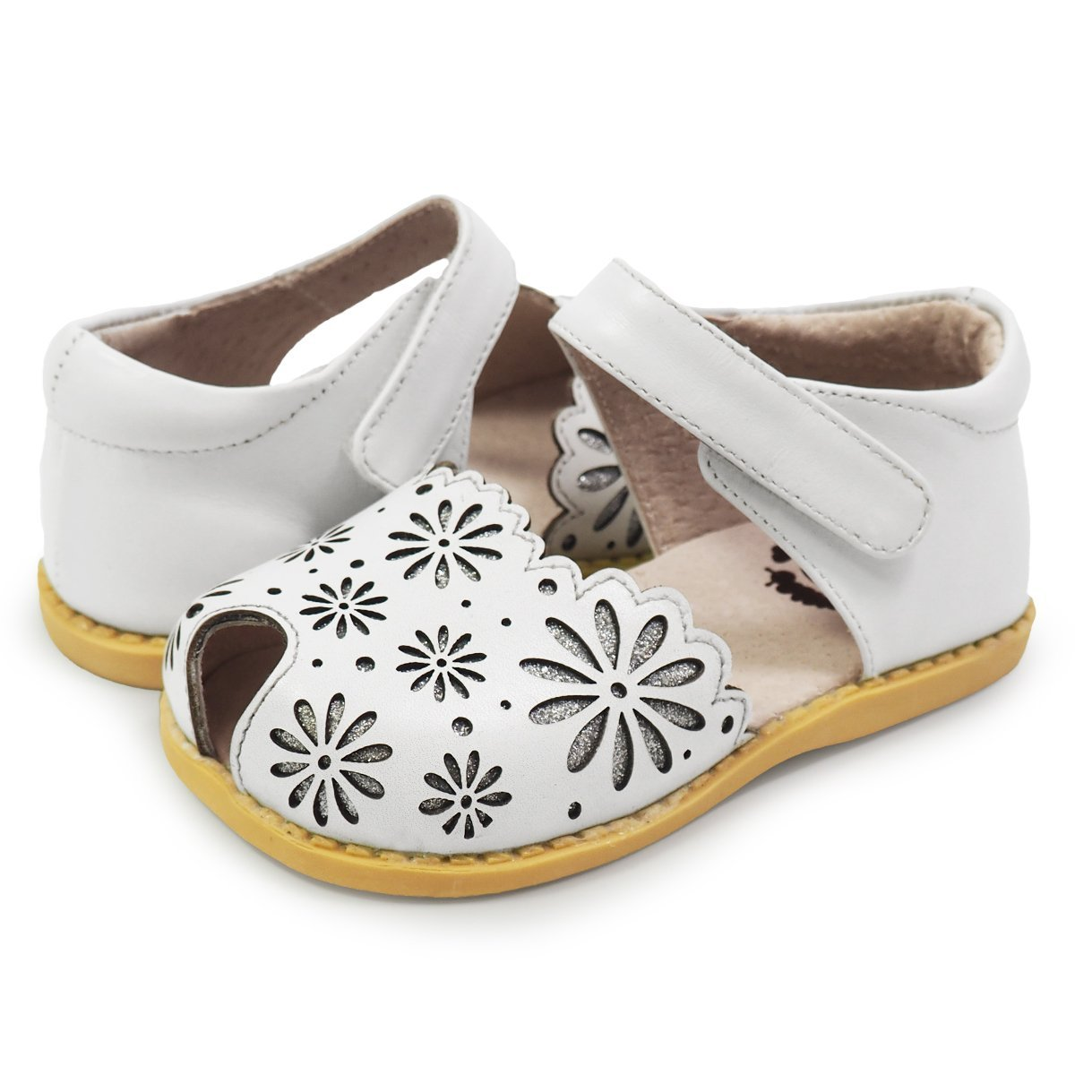 Livie & Luca New Children Low-Heeled Party Toddler Mary Jane Boat Shoes Girls Baby Breathable Kids Leather Single enlarge