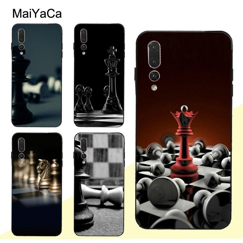 MaiYaCa piezas de ajedrez funda para Huawei Honor 8X 9X 10i 9 10 20 Lite 7A Pro 7C 8A 8C 8S Y6 Y7 2019 Nova 5T