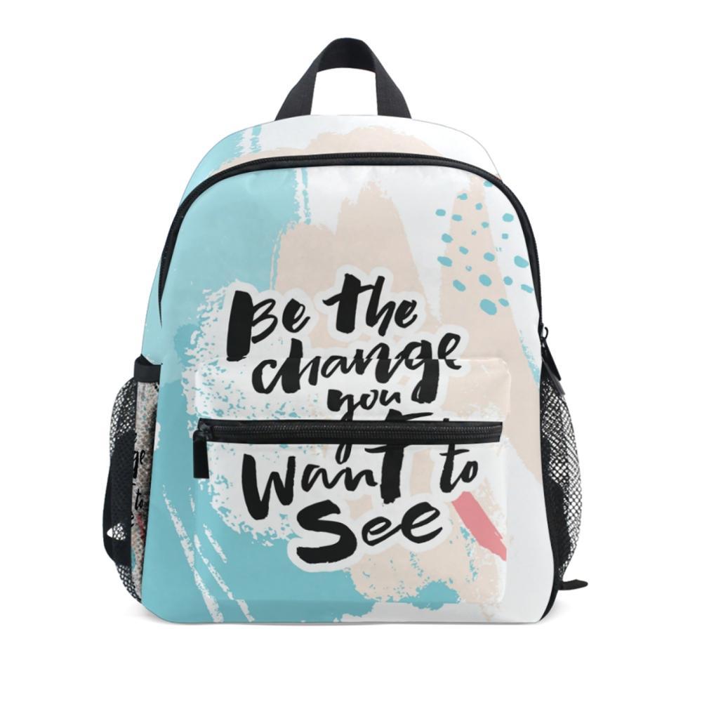Для девочек школьные рюкзаки для детей, школьные ранцы для мальчиков ортопедический рюкзак с буквенным принтом школьный детский ранец Mochila