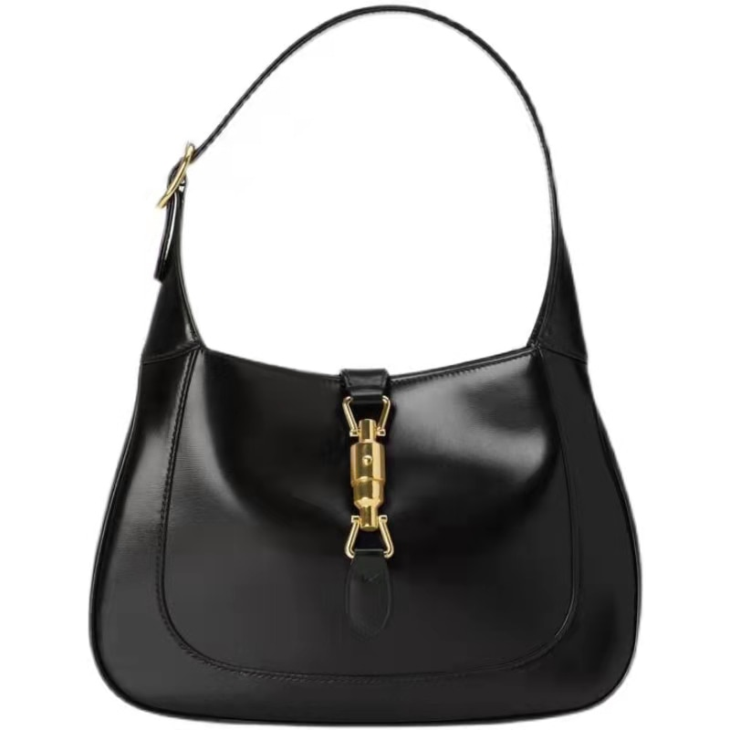 Women's bag 2021 new style 100% cowhide French underarm bag fashion messenger leather bag all-match single shoulder lady handbag