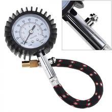 Jauge de pression à Air cadran   Unité 100 PSI pour pneu, véhicule de voiture, moto pneu outil de mesure précise