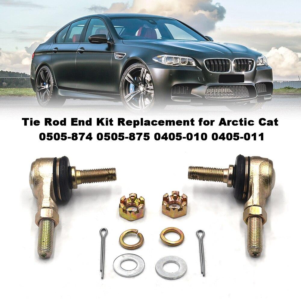 Spurstangenkopf Kit Ersatz für Arctic Cat 0505-874 0505-875 0405-010 0405-011 auto styling Auto zubehör