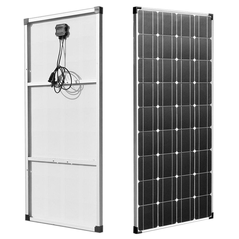 150 واط 18 فولت لوحة طاقة شمسية خفيفة الوزن وحدة PV خلية طاقة للبطارية 12 فولت شحن قارب قافلة أي تطبيقات أخرى خارج الشبكة