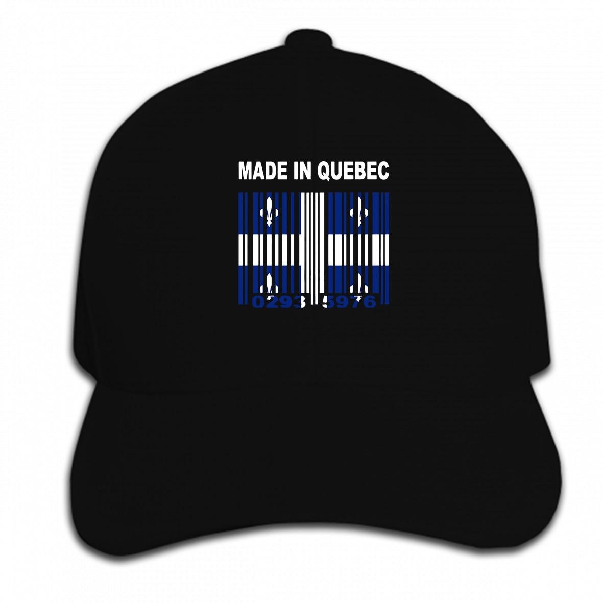 Boné de beisebol feito sob encomenda feito em quebec quebecois montreal canadá bandeira chapéu de verão masculino