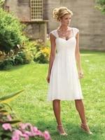 custom made short sleeves bridesmaid dresses short length gary ivory burgundy champagne white wedding party dress wholesale