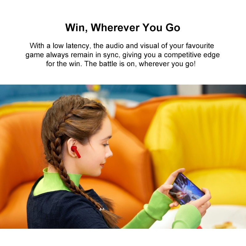 Global Version Huawei Freebuds 4i Wireless Headphone Dynamic Unit ANC Wireless Bluetooth 5.2 Headset Active Noise Cancellation