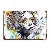 Banksy     peinture a lhuile de princesse Urban Graffiti  panneaux metalliques  Plaque murale de cuisine  cinema  decoration de maison  affiches en etain